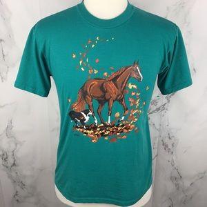 Vintage Horse Logo Single Stitch T-shirt